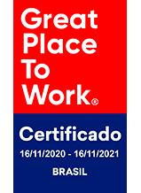 Selo do certificado GPTW sem qrcode